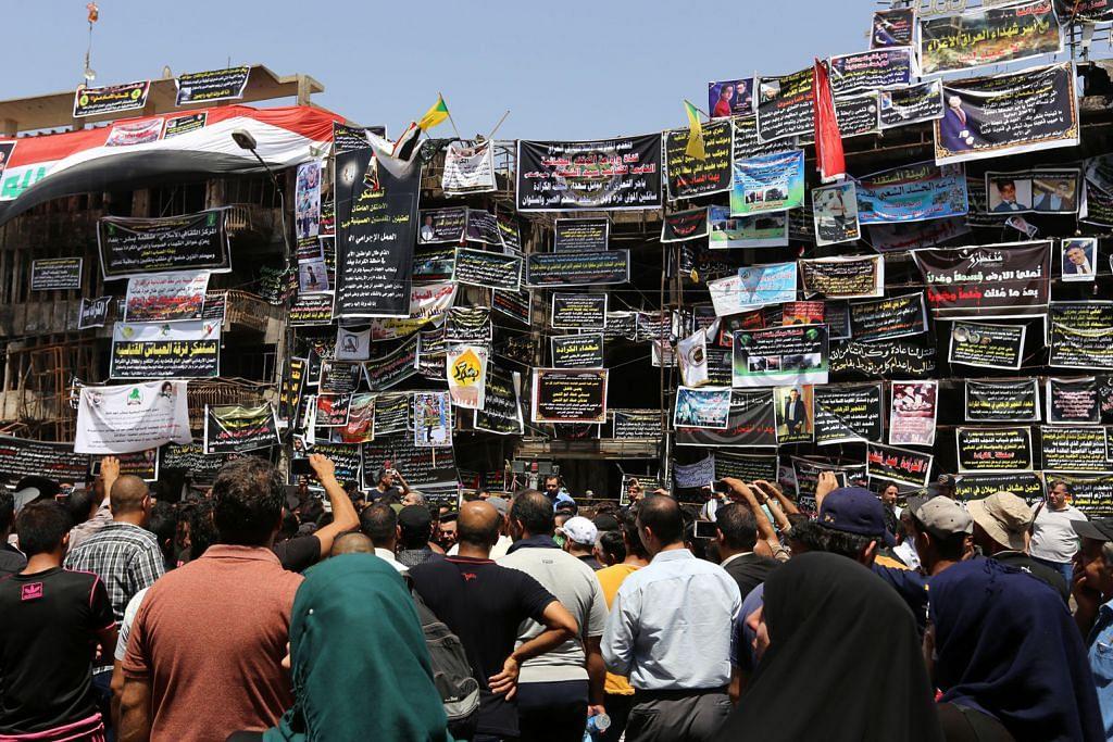 Masjid jadi sasaran serangan bom terbaru IS di Iraq