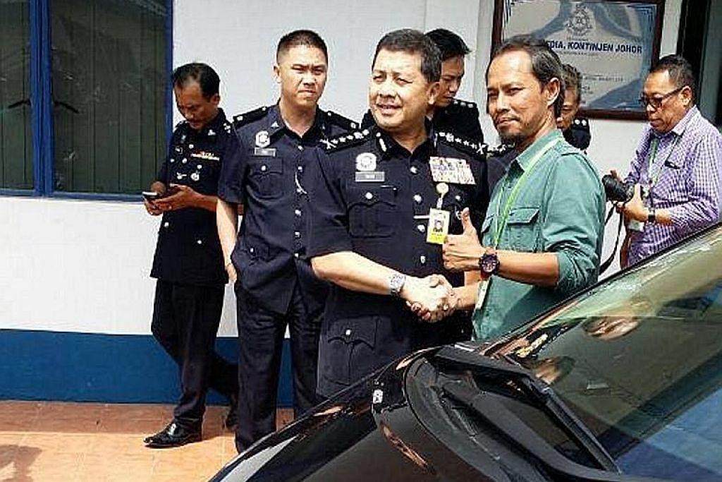 SINAR SYAWAL Mangsa kecurian kereta di JB beraya di Negeri Sembilan