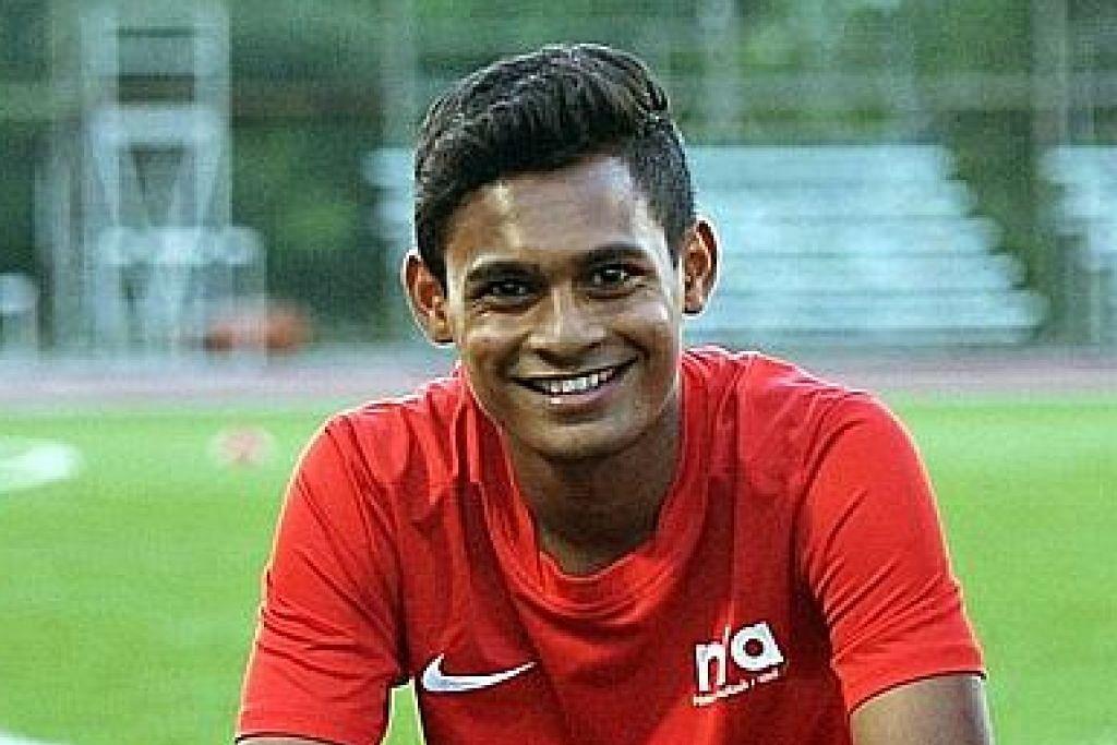 Anak antara pemain paling berbakat Singapura