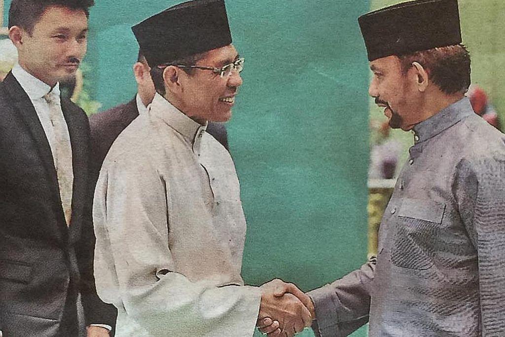 Maliki ketuai rombongan muhibah beraya di Brunei