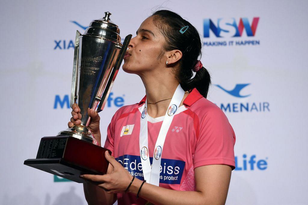 BADMINTON Saina Nehwal pikul harapan emas badminton India