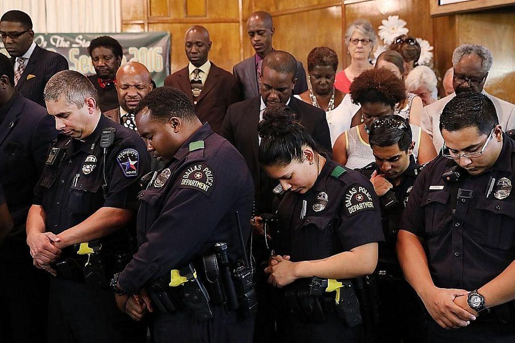 KEJADIAN MENEMBAK DI AMERIKA SYARIKAT Ramai terus bantah keganasan polis