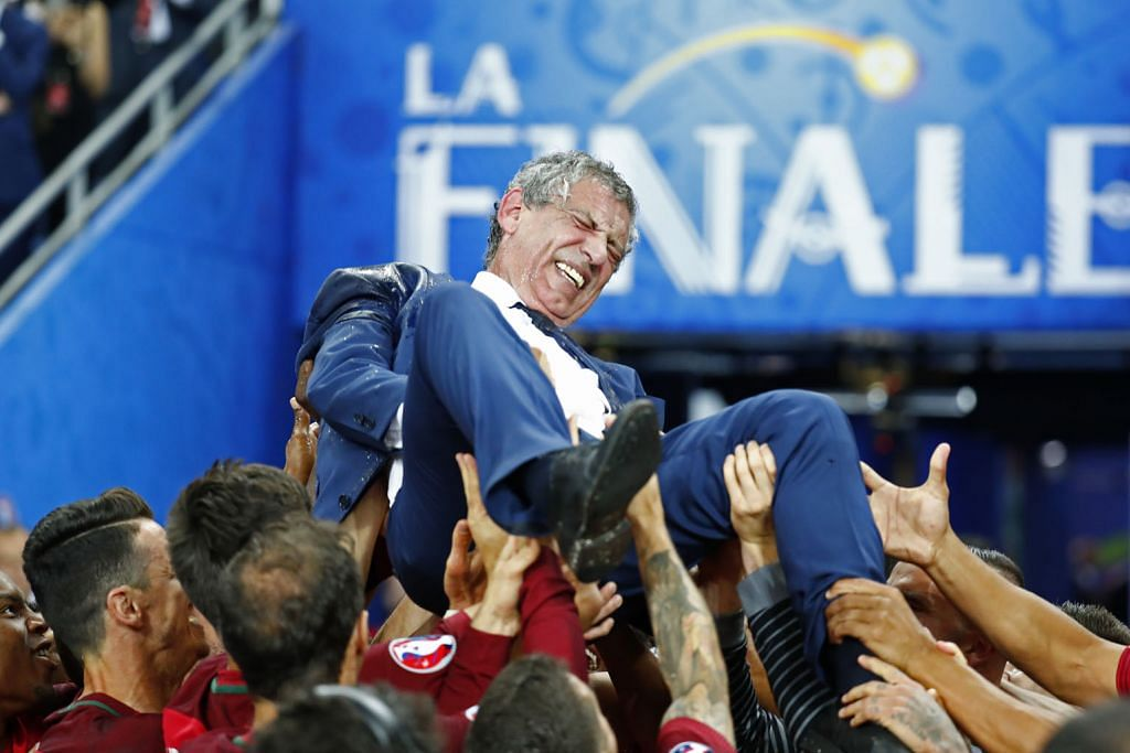 Daripada menangis sedih, Ronaldo menangis gembira