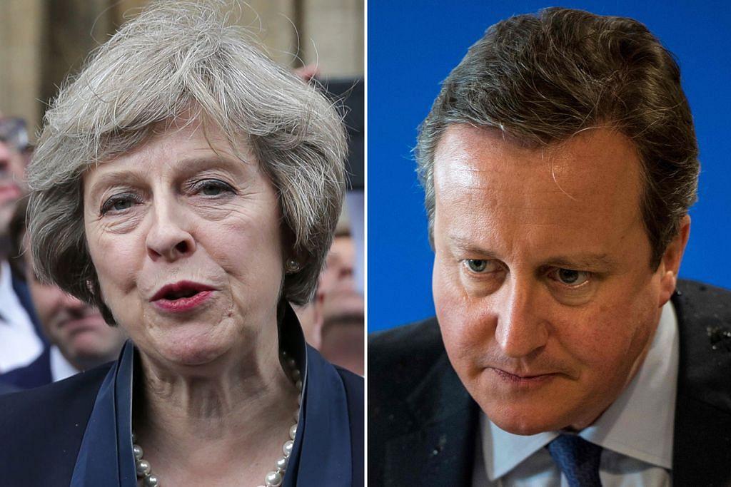 Theresa May rasmi jadi PM Britain baru
