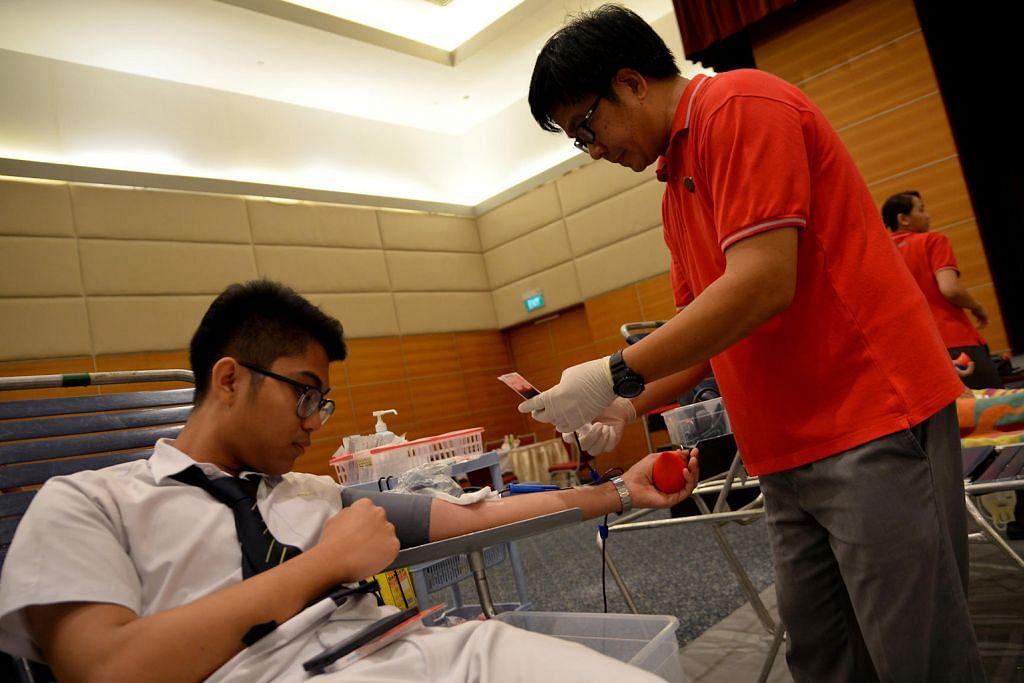 Pelajar penderma darah kali pertama berjaya atasi rasa gelisah