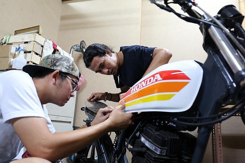 Mat motor hidupkan kembali motosikal klasik