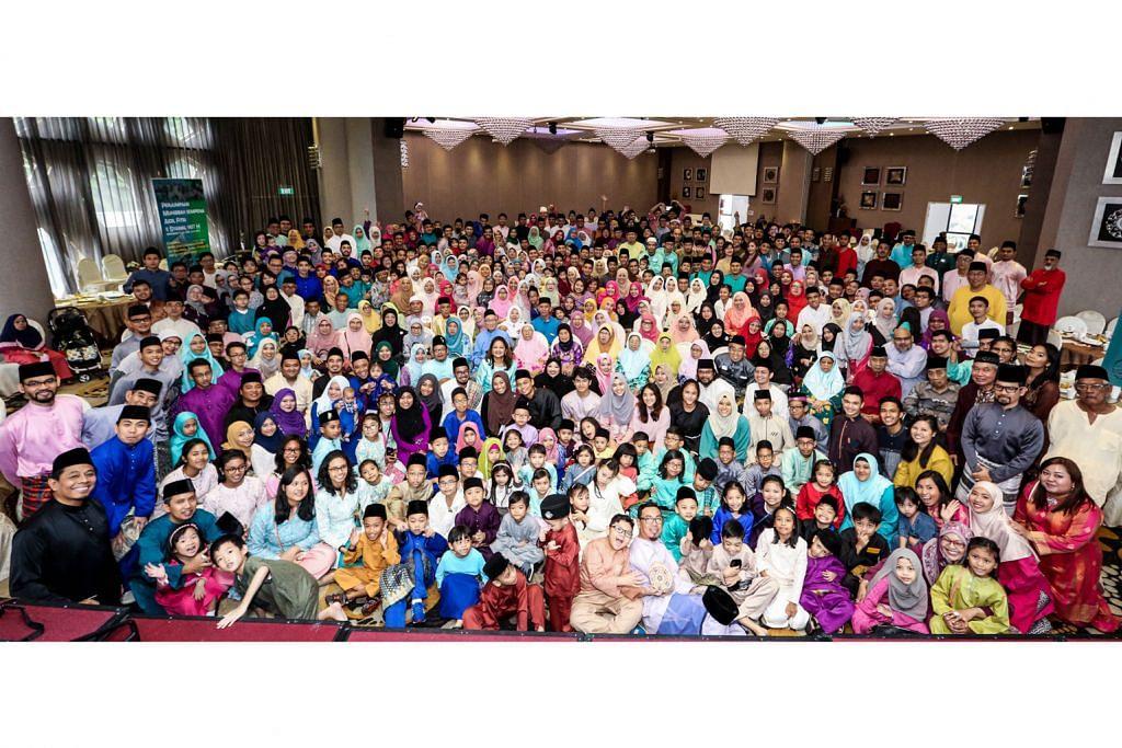 Majlis temukan 400 ahli keluarga daripada generasi pertama hingga ketiga