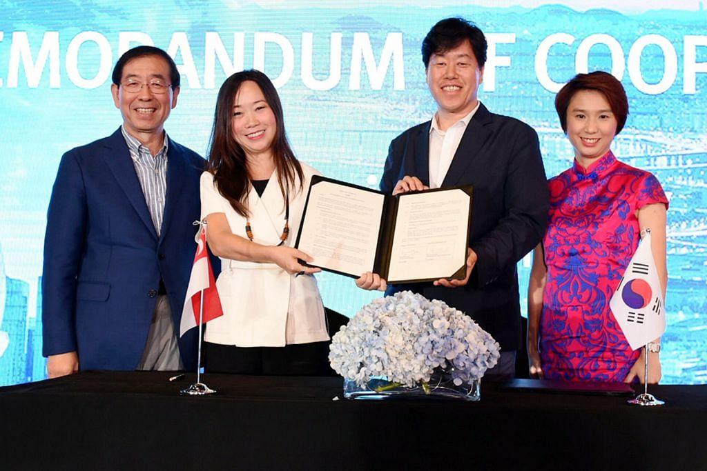 Seoul, Lembaga Pelancongan Singapura tandatangani memorandum kerjasama