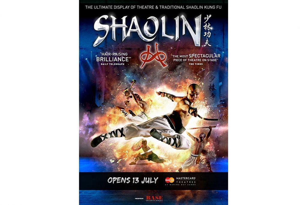 Wira Shaolin 'terbang' ke Marina Bay Sands