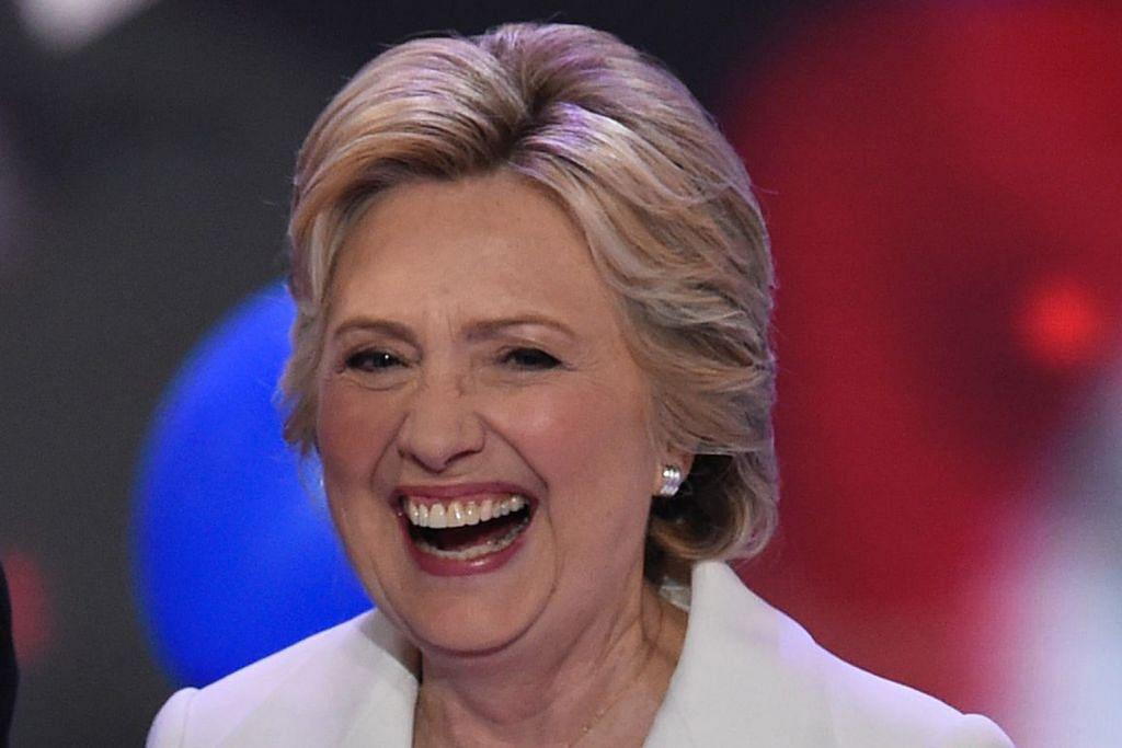 Clinton tegaskan rakyat Amerika lebih kuat apabila bersatu PILIHAN RAYA PRESIDEN AMERIKA SYARIKAT