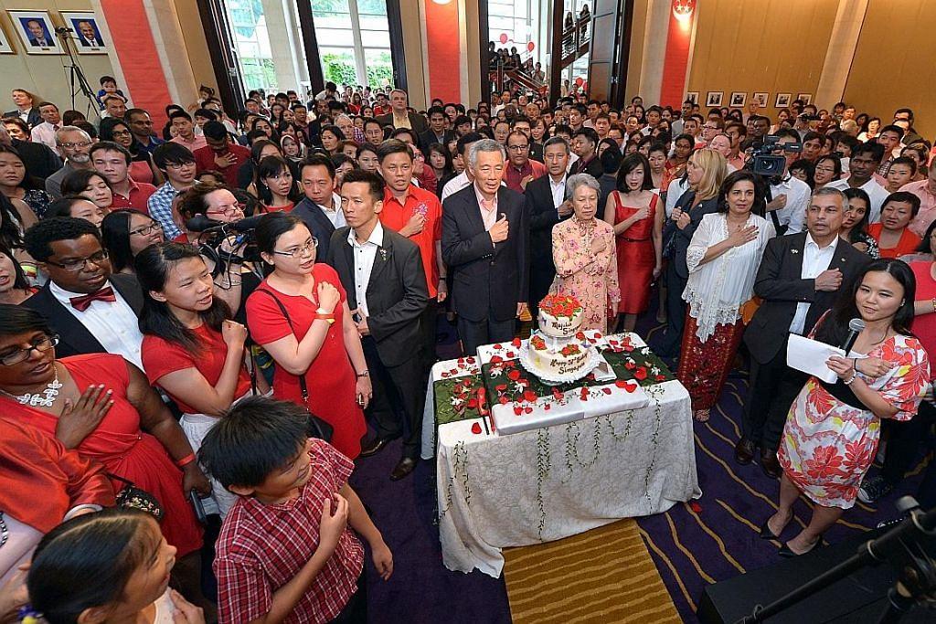 PM sambut Hari Kebangsaan bersama warga SG di Washington
