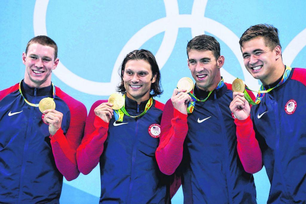 Phelps akhiri kerjaya renang dengan pingat emas ke-23 RENANG