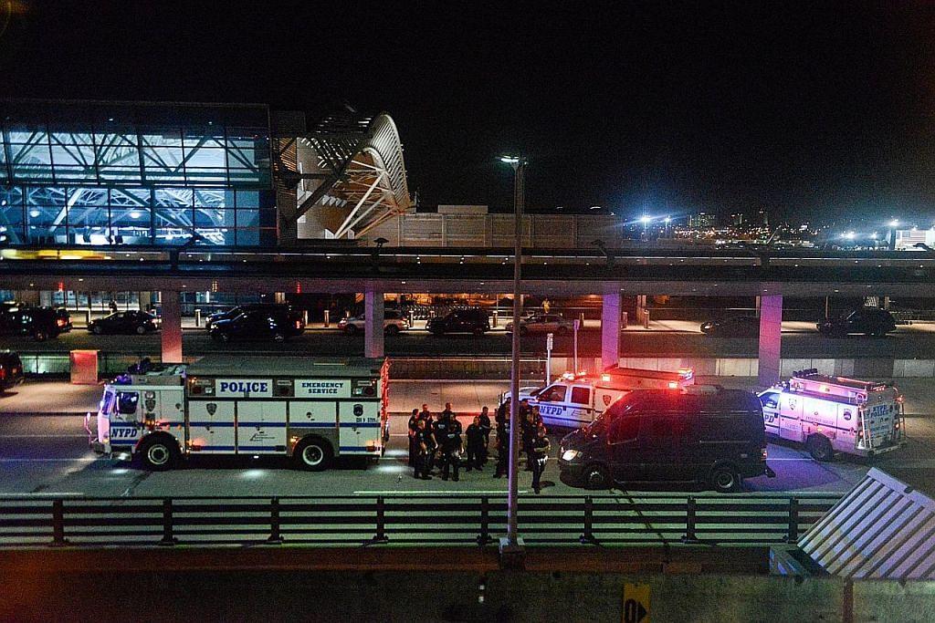 Polis gagal temui bukti tembakan berlaku di lapangan terbang JFK