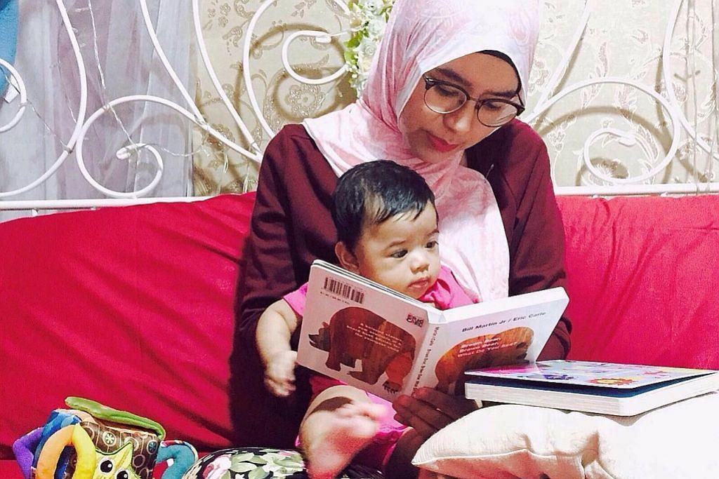 Pupuk minat baca sejak dari bayi