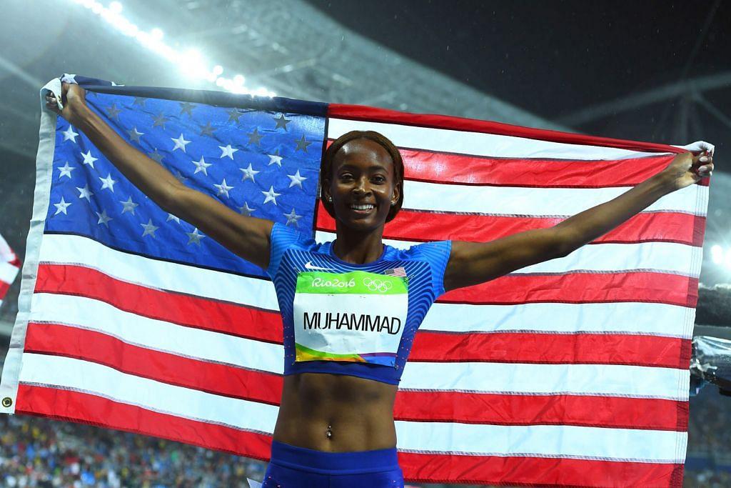 Atlit Amerika turut tunjuk kuat