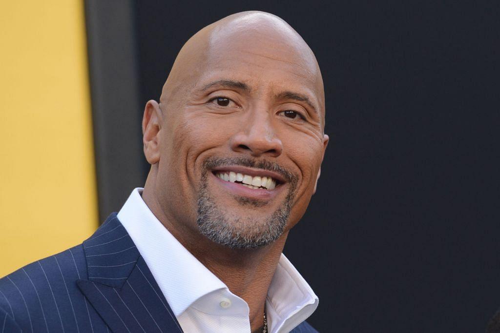 'The Rock' kini Raja Hollywood, pelakon gaji tertinggi