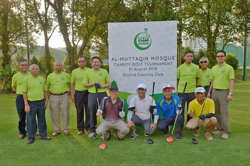 Lebih 140 sertai golf amal Al-Muttaqin