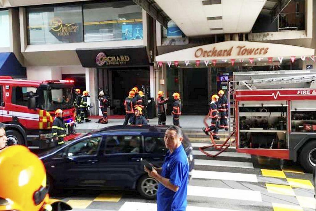 Kebakaran di Orchard Towers