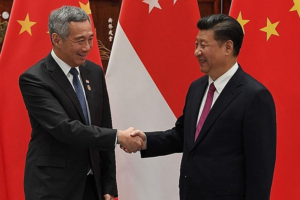 PM Lee, Presiden Xi perkukuh hubungan