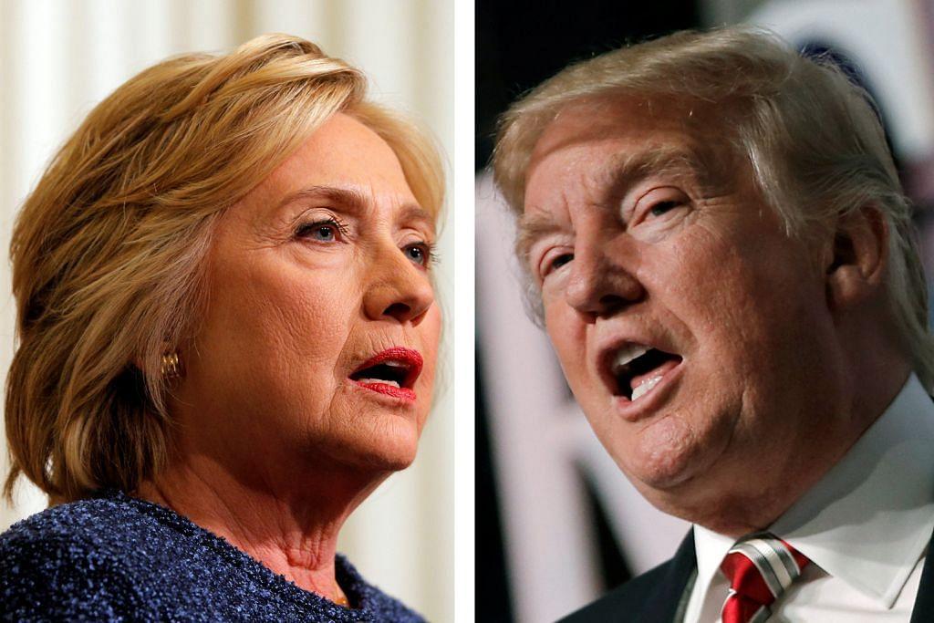 Clinton, Trump terus lempar kecaman sesama sendiri