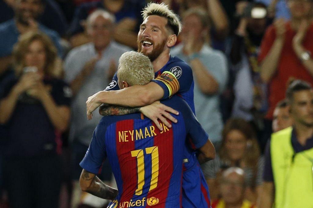 LIGA JUARA-JUARA Messi pemain terbaik di setiap posisi