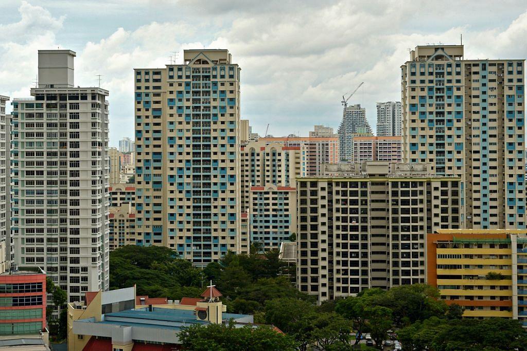Harga sewa flat HDB dan apartmen privet susut 0.6% bulan lalu