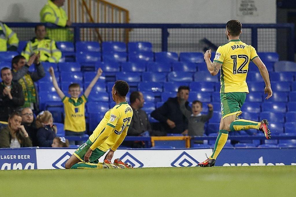 PIALA LIGA Norwich City, Arsenal bersinar atasi kelab lain