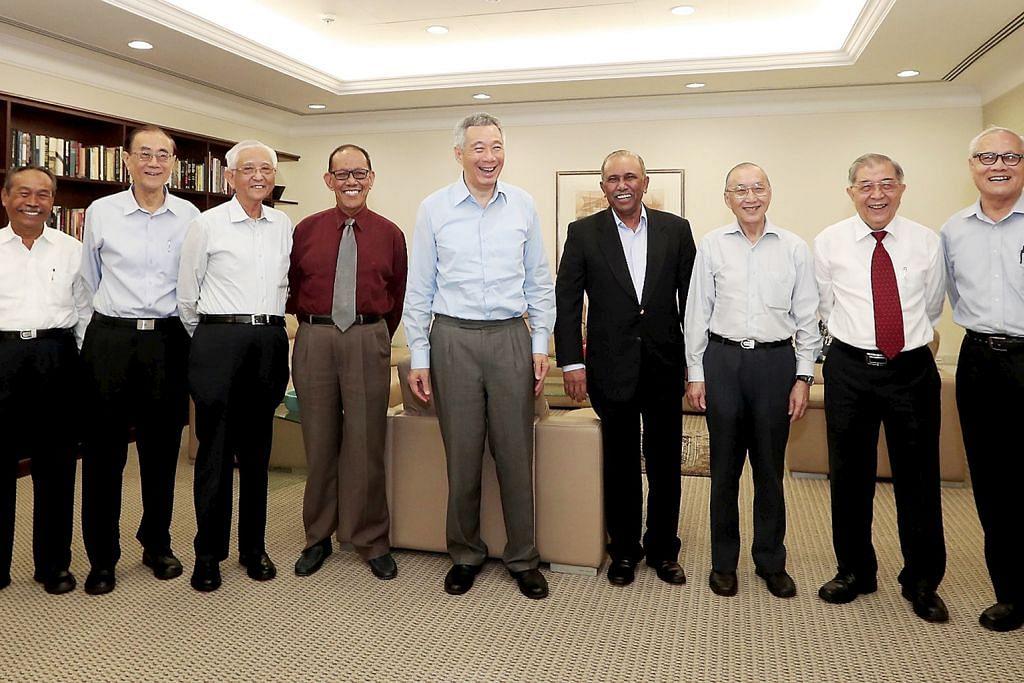 PM Lee temui mantan AP di Istana