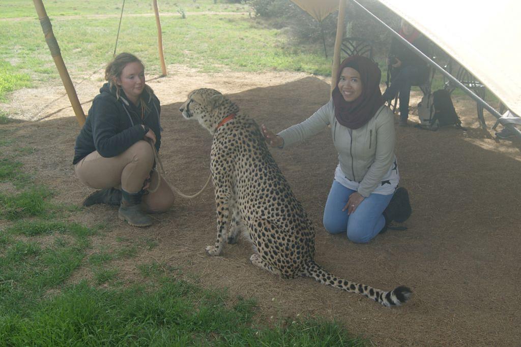 Kenangan indah terpahat di Afrika Selatan