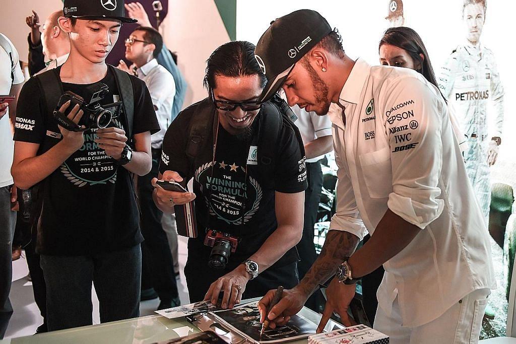 Hamilton yakin 'rampas semula' kemenangan FORMULA SATU