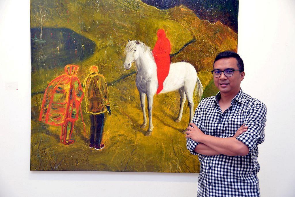 Tinggalkan muzium seni Paris bagi misi semarak seni Singapura