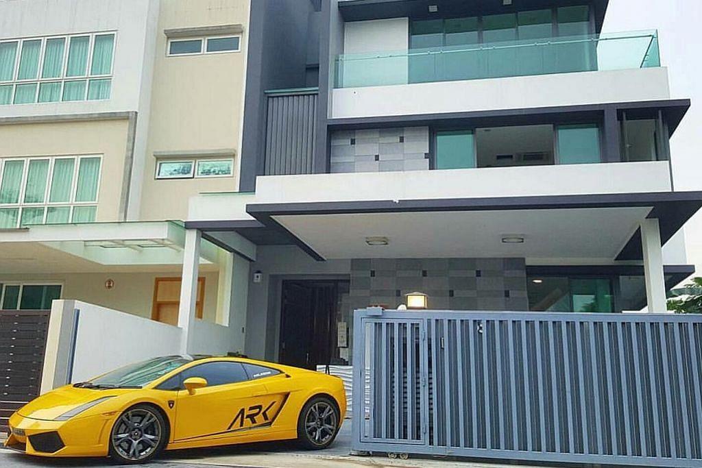 Usia baru 28 tahun sudah ada Lamborghini, dan rumah semi-D