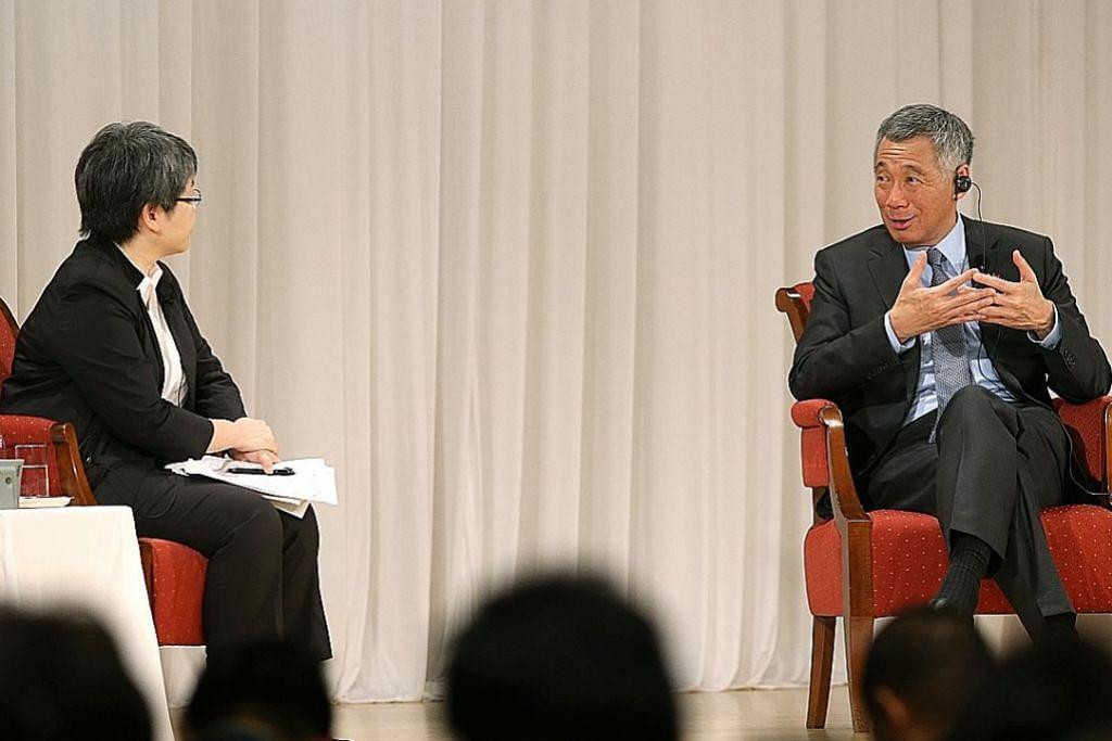 PM Lee: S'pura berkawan dengan setiap negara yang ingin berkawan