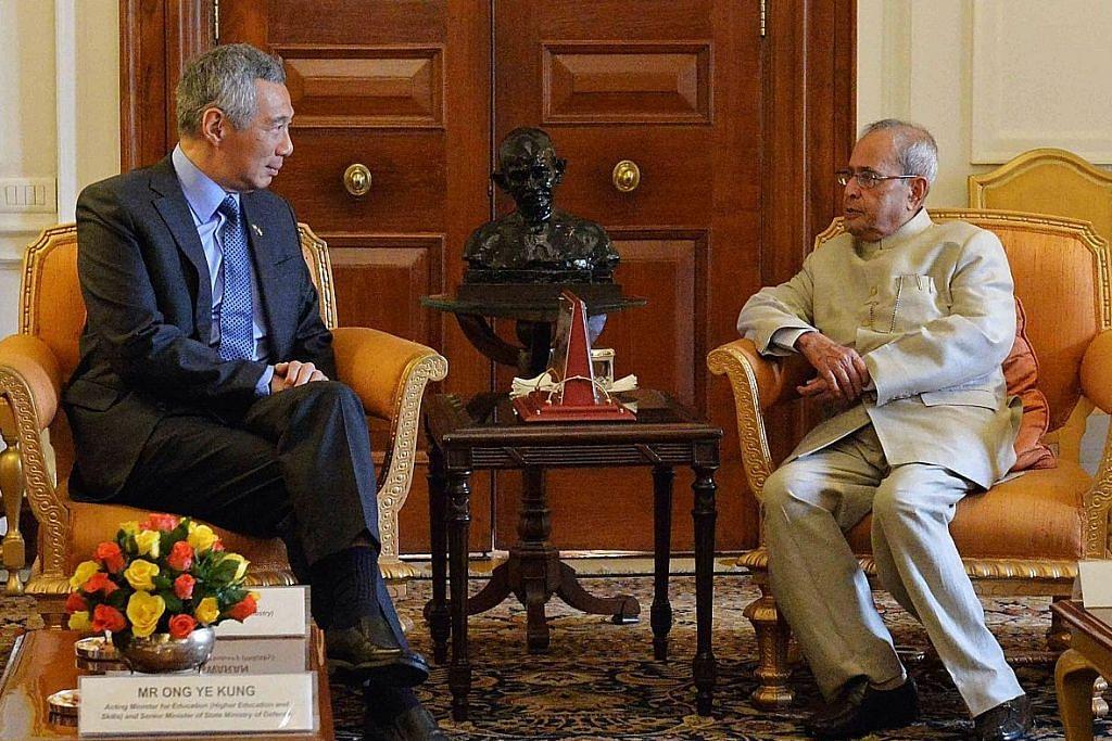 PM yakin hubungan S'pura-India akan terus berkembang