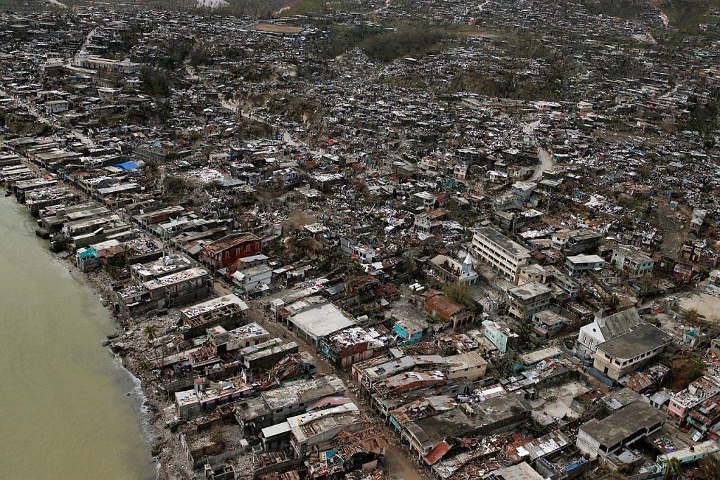Lebih 400 korban taufan di Haiti