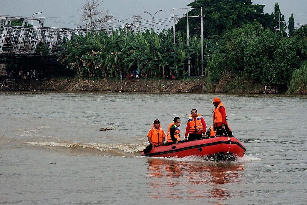 7 remaja hilang setelah bot terbalik di Sungai Bengawan Solo