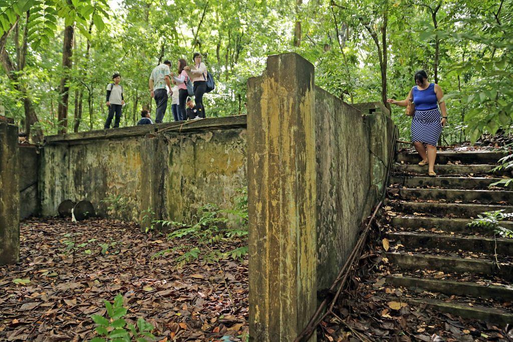 Susuri sejarah dalam taman semula jadi