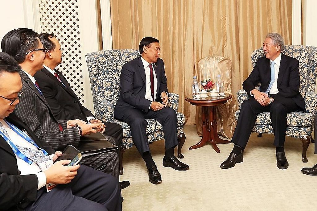 DPM Teo, Wiranto sahkan hubungan erat S'pura-Indonesia