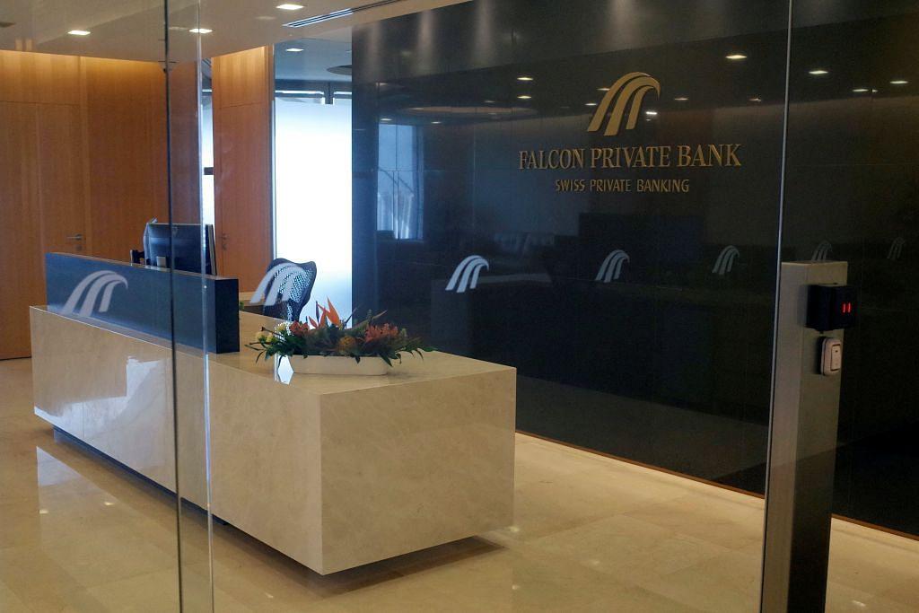 RENTETAN SKANDAL 1MDB MAS arah operasi Falcon Private Bank di sini ditutup