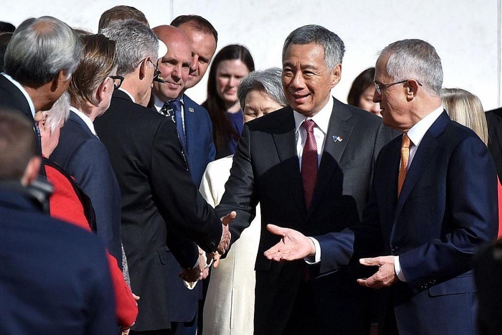 Kerjasama strategik perkukuh lagi hubungan S'pura-Australia