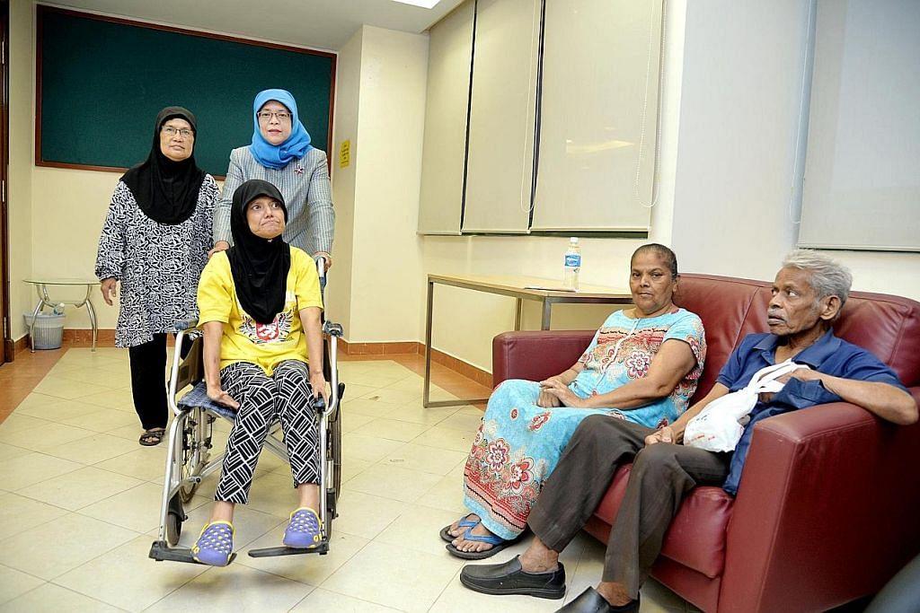 Program pemulihan dan yakin diri bagi pesakit strok GRC Marsiling-Yew Tee