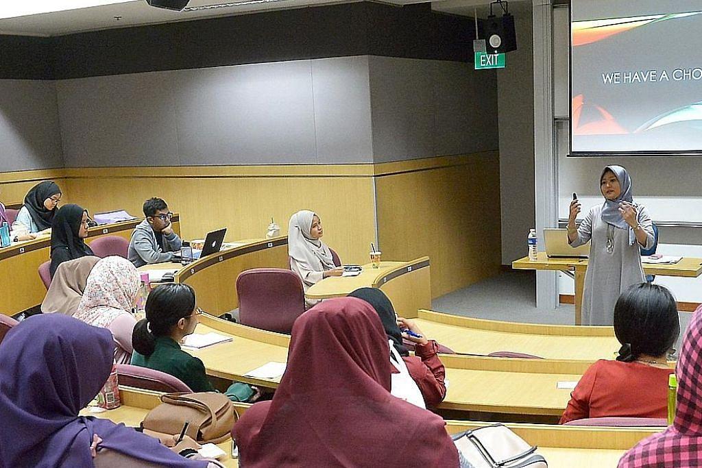 Sesi dialog bantu perbetul salah tanggap terhadap wanita Islam MINGGU KESEDARAN ISLAM SMU