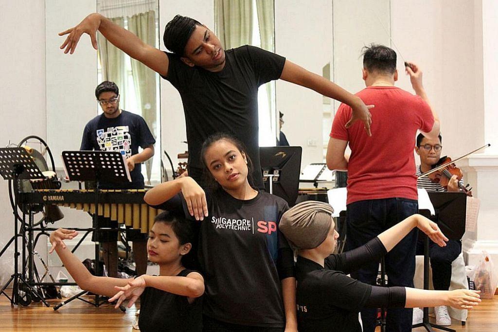 Belia harapan gabung elemen seni antarabangsa untuk teater tari