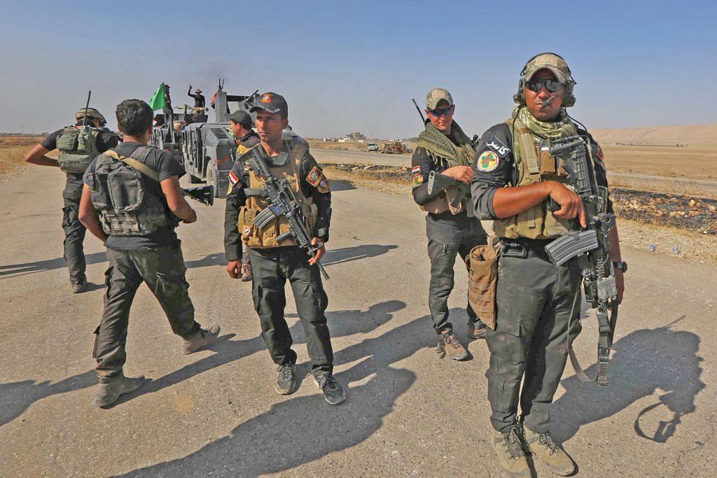 AS jangka militan IS guna agen kimia