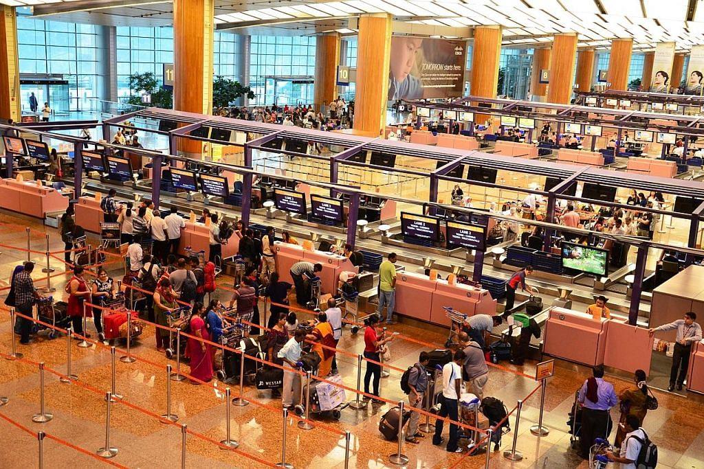 Jumlah penumpang di Lapangan Terbang Changi naik 3.7 peratus kepada 4.58 juta bulan lalu