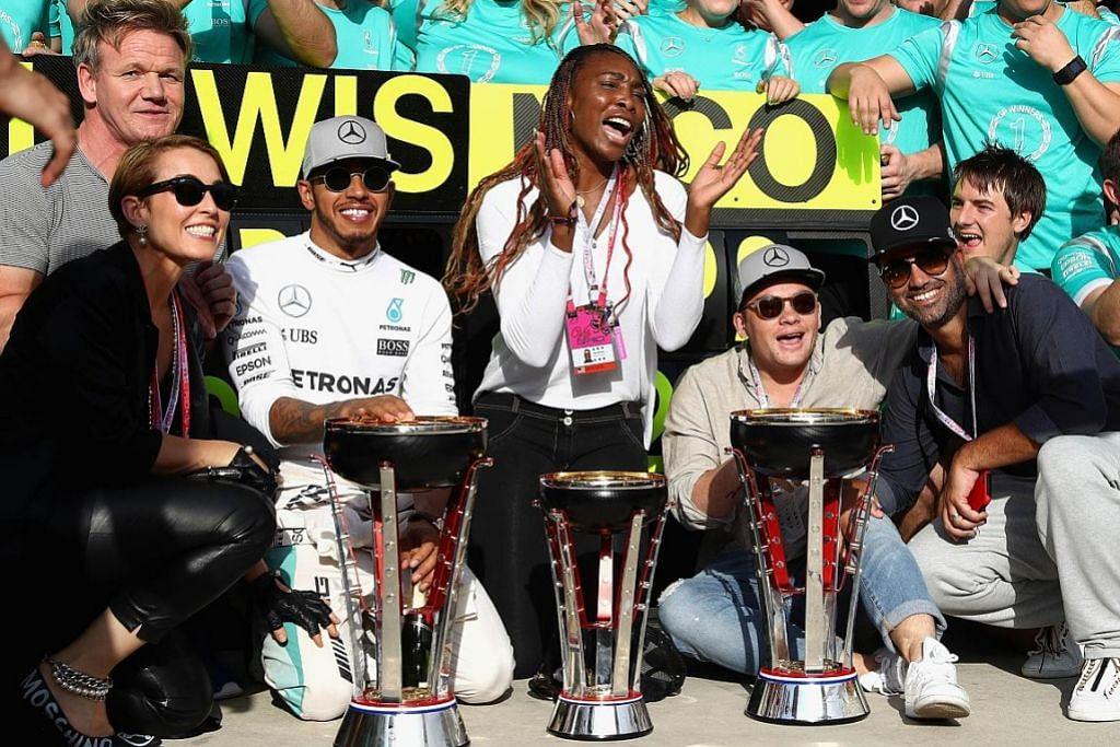 Hamilton kekal impian buru kejuaraan dunia keempat FORMULA SATU