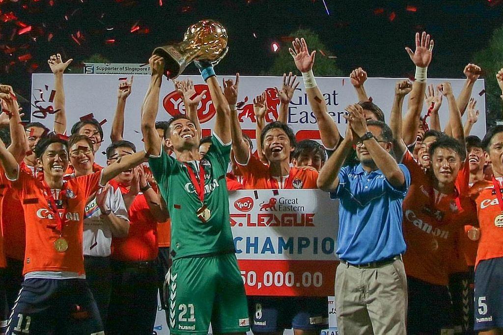 LIGA-S GREAT EASTERN-YEO'S Penantian berakhir, Albirex ditabal 'raja' bola sepak S'pura