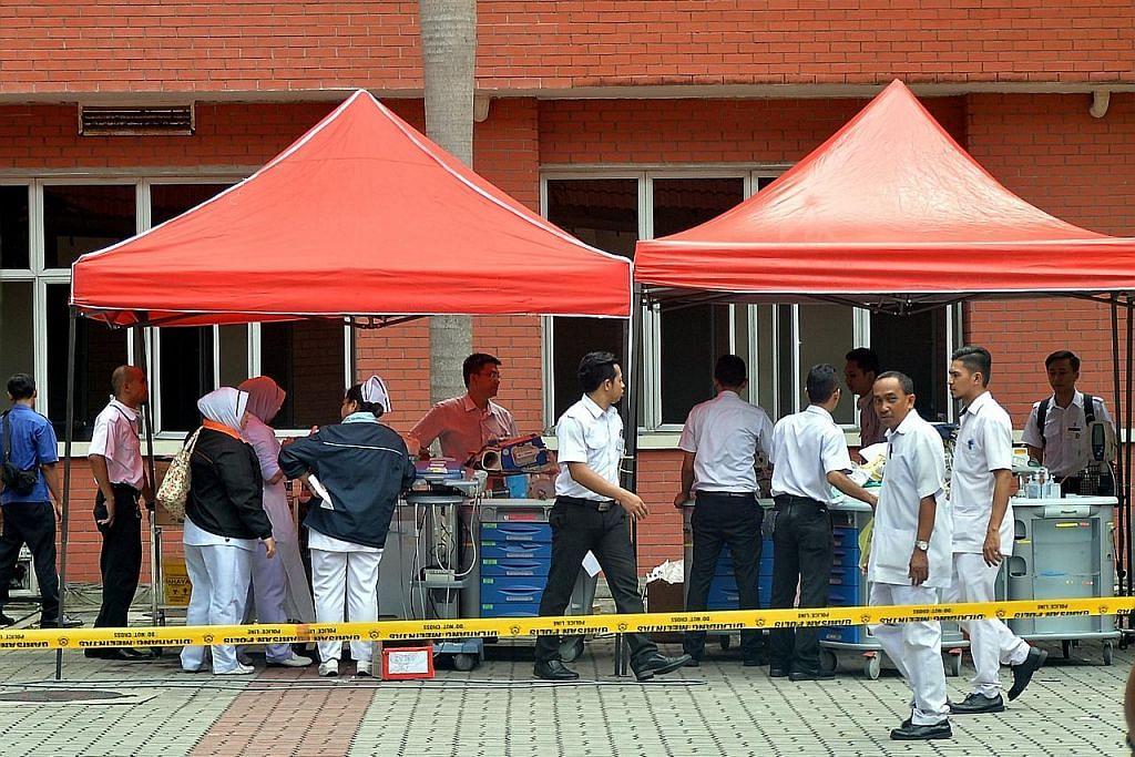 Audit keselamatan di semua hospital kerajaan M'sia KEBAKARAN HOSPITAL SULTANAH AMINAH