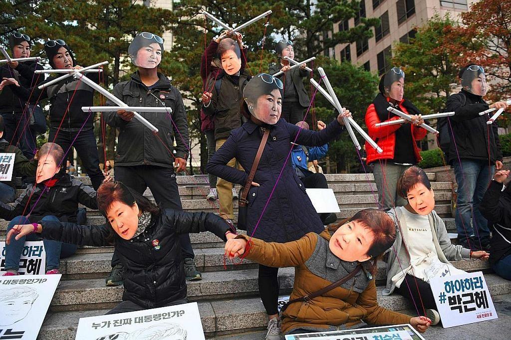 POLITIK DUNIA Wanita dalam kemelut Presiden Korea S pulang ke Seoul
