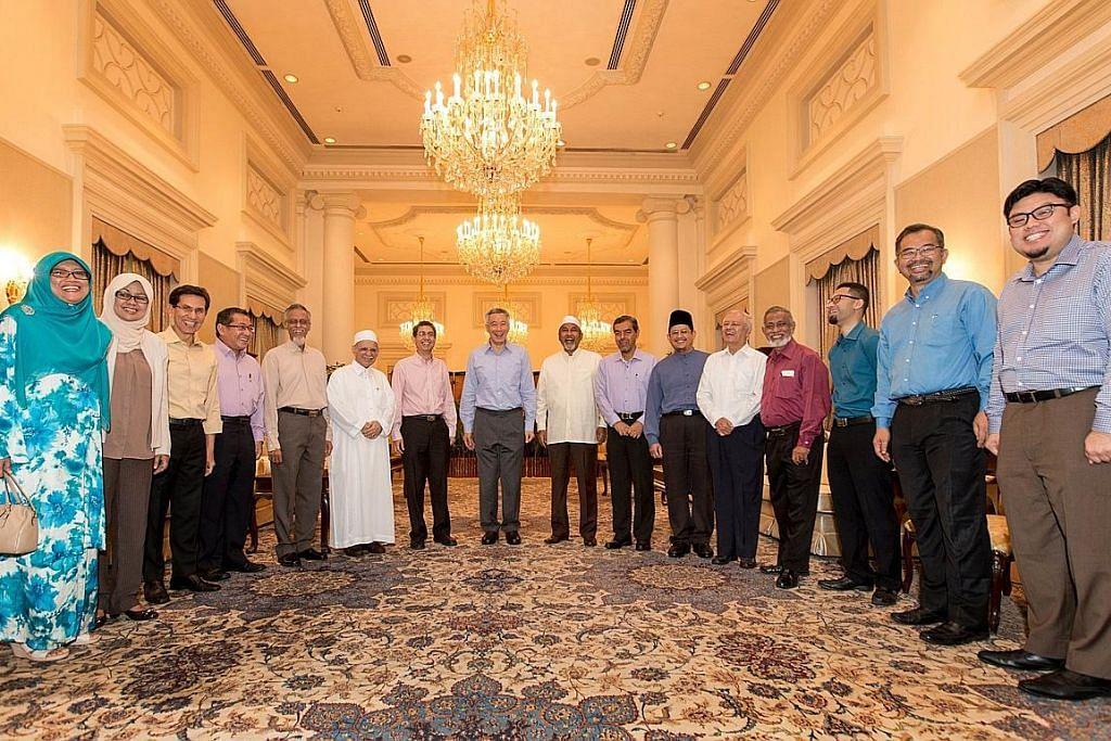 PM Lee temui pemimpin masyarakat Melayu/Islam